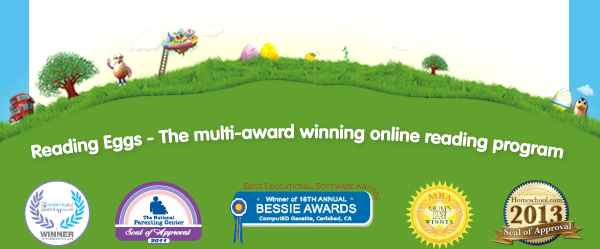 Reading Eggs - The multi-award winning online reading program